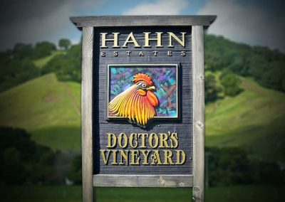 Vineyard Signs in Salinas, CA