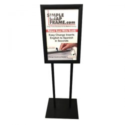 sign display stand Simple Snap Frame