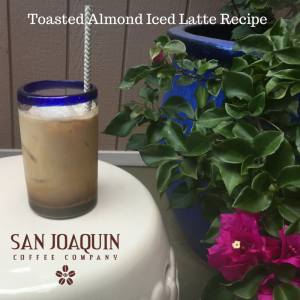 Toasted Almond Iced Latte Recipe