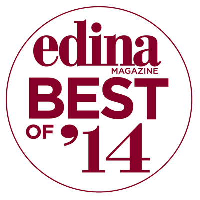 "Skin Rejuvenation Clinic was named the TOP ""Cosmetic Clinic/Medical Spa"" in Edina Magazine's 2014 ""Best Of"" Edina issue"