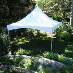 Square tent rental - Skyline Event Rentals