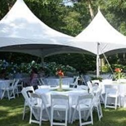 Two tent rentals for 80 people - Skyline Event Rentals