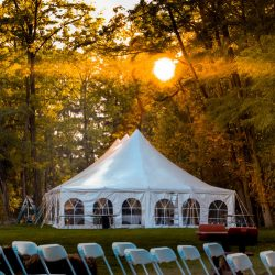 Tent rental with walls - Skyline Event Rentals