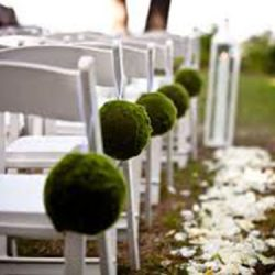 Party rental chairs with decoration - Skyline Event Rentals