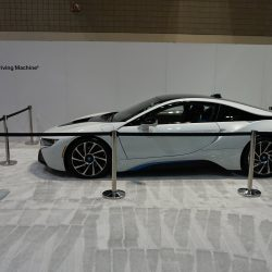 A tradeshow booth for BMW built and designed by Skyline E3.