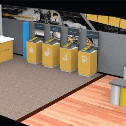 An office designed by Skyline E3