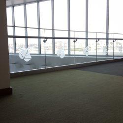 Office glass embellishment designed by Skyline E3.