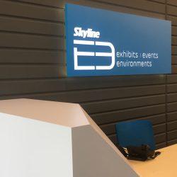 The Skyline E3 lobby design.