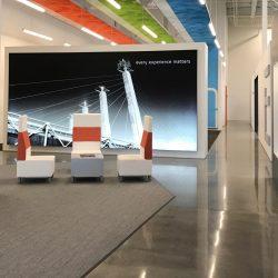 Part of the office design of Skyline E3.