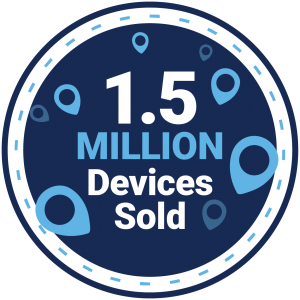 1.5 Million Badge
