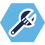 Icon of a pipe wrench