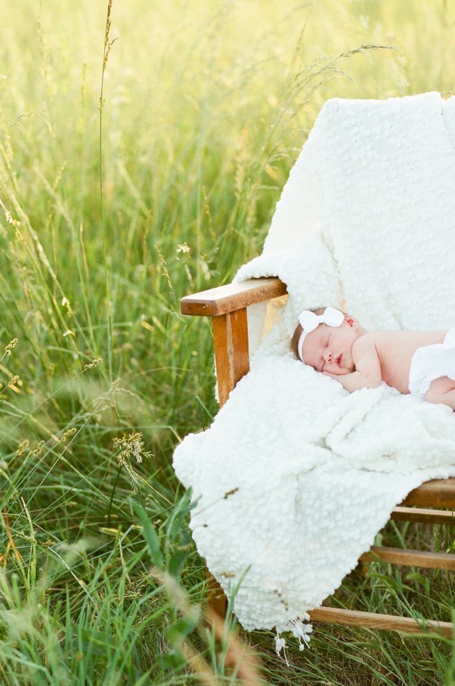 Newborn photography session Telluride