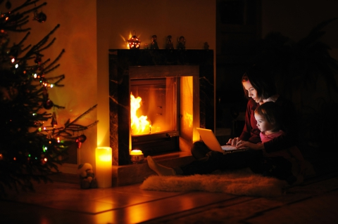 Don't let a fireplace cause fire damage this winter!