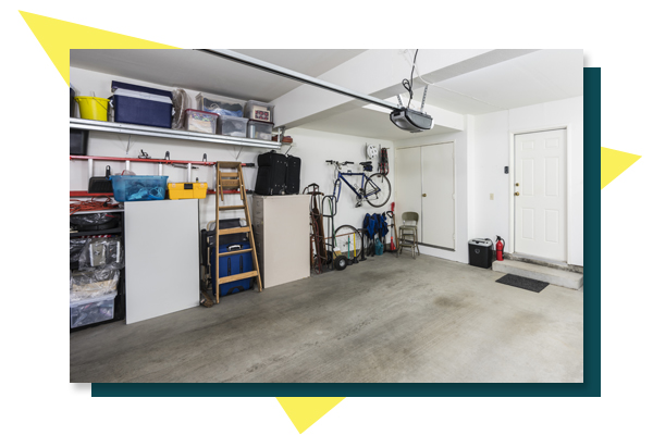 Picture of a clean garage