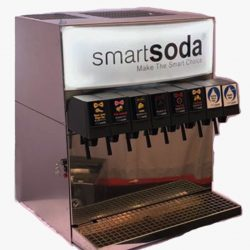 Healthy soda and sparkling water systems for restaurants