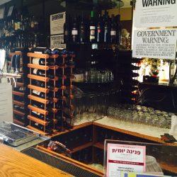Commercial drink dispenser at a bar