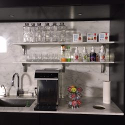 Cold drink dispenser with custom bottles