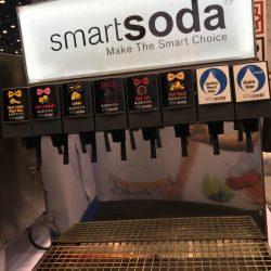 A SmartSoda soda machine ready for use