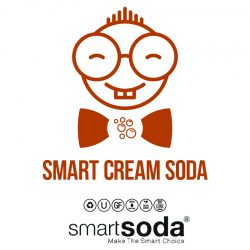 Cream Soda flavored sparkling soda from SmartSoda