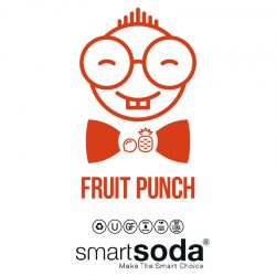 Fruit-punch flavored sparkling soda from SmartSoda