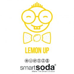 Lemon flavored sparkling soda from SmartSoda