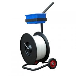A strap cart from Smart Shield Packaging