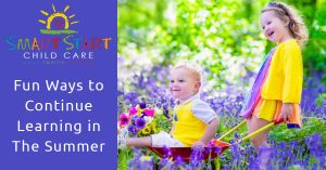 Summer child care programs and child care advice