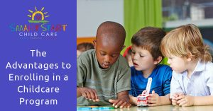 Advantages of enrolling in a child care program in Bowling Green