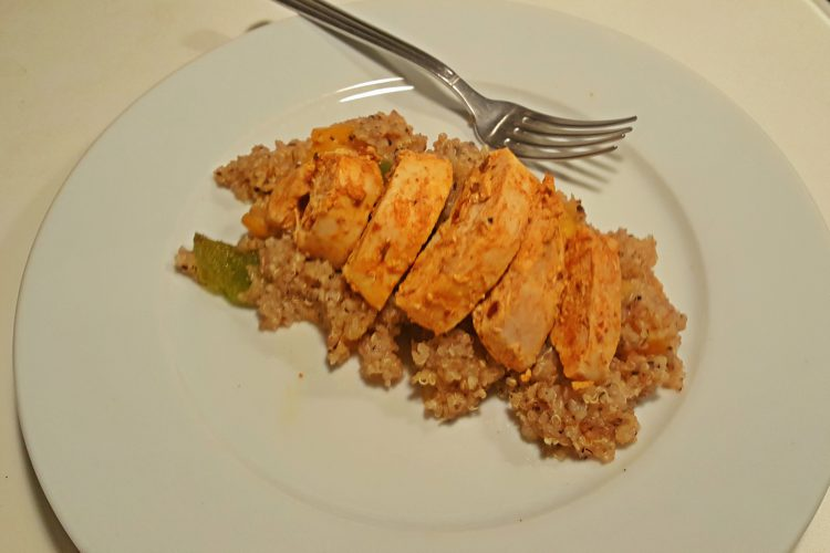 Cajun Chicken and Quinoa