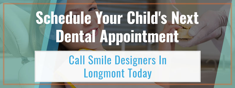 Call to action for dental care for kids.