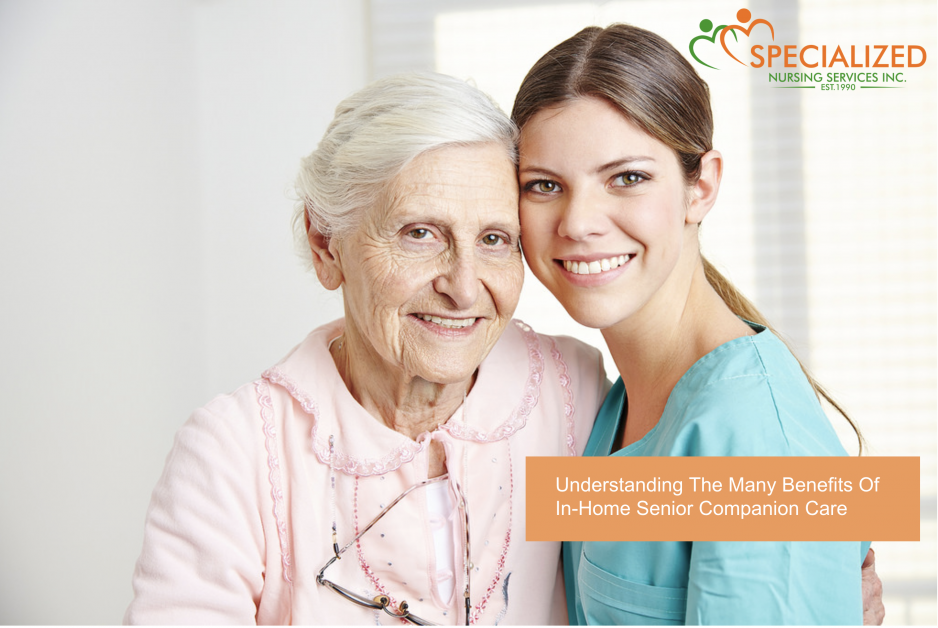 Understanding The Many Benefits Of In-Home Senior Companion Care