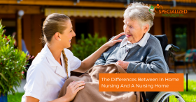 in-home care vs nursing home