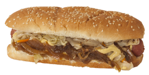 New York style hot dog from Edmonton's Soda Jerks