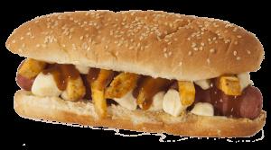 Poutine hot dog at top Edmonton burger restaurant, Soda Jerks
