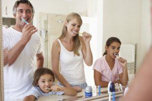 Family brushing