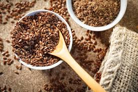 foods for healthy teeth and gums-flaxseed