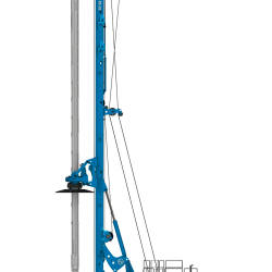 The Soilmec SR-125 HT Side view