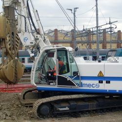 The Soilmec SR-30 portable compact drilling technology