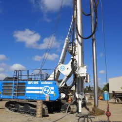 Soilmec SR-95 portable drilling at its finest