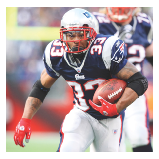 Kevin Faulk has help Sole Impact develop our shock absorbent socks.