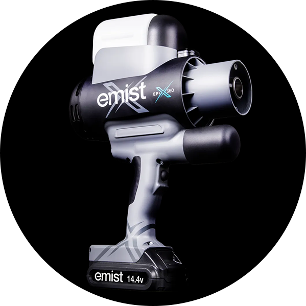Image of emistX cleaning machine