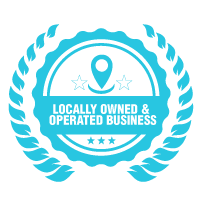 Locally Owned & Operated Business Badge