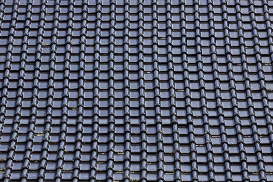 An image of a metal roof.