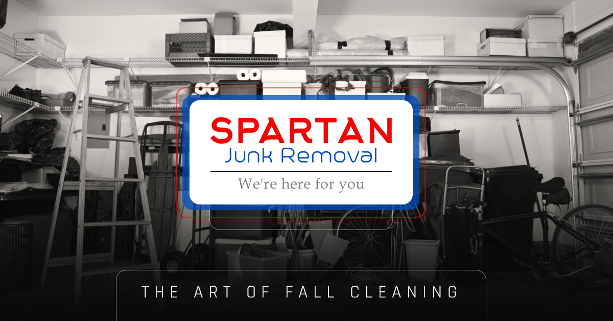 Banner - The art of fall cleaning and junk removal