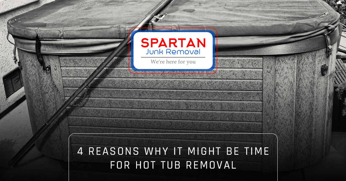Banner - 4 reasons why it might be time for hot tub removal