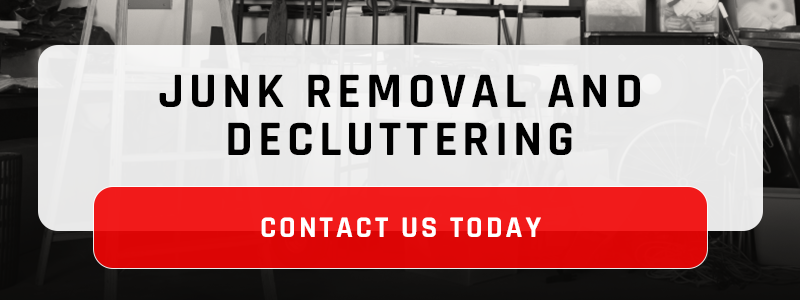 Banner - Junk removal and decluttering: contact us today