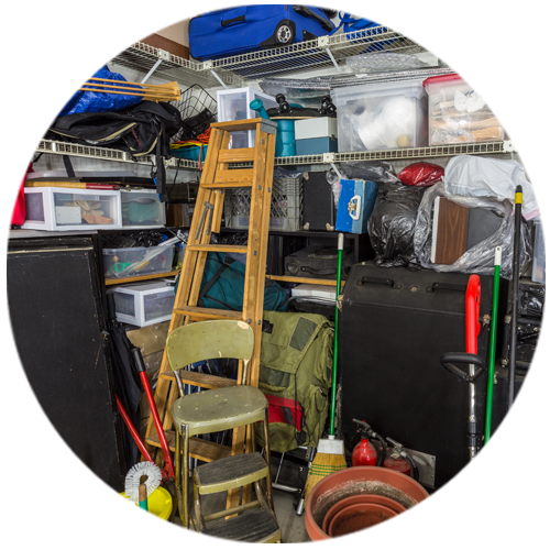 garage storage cleanup