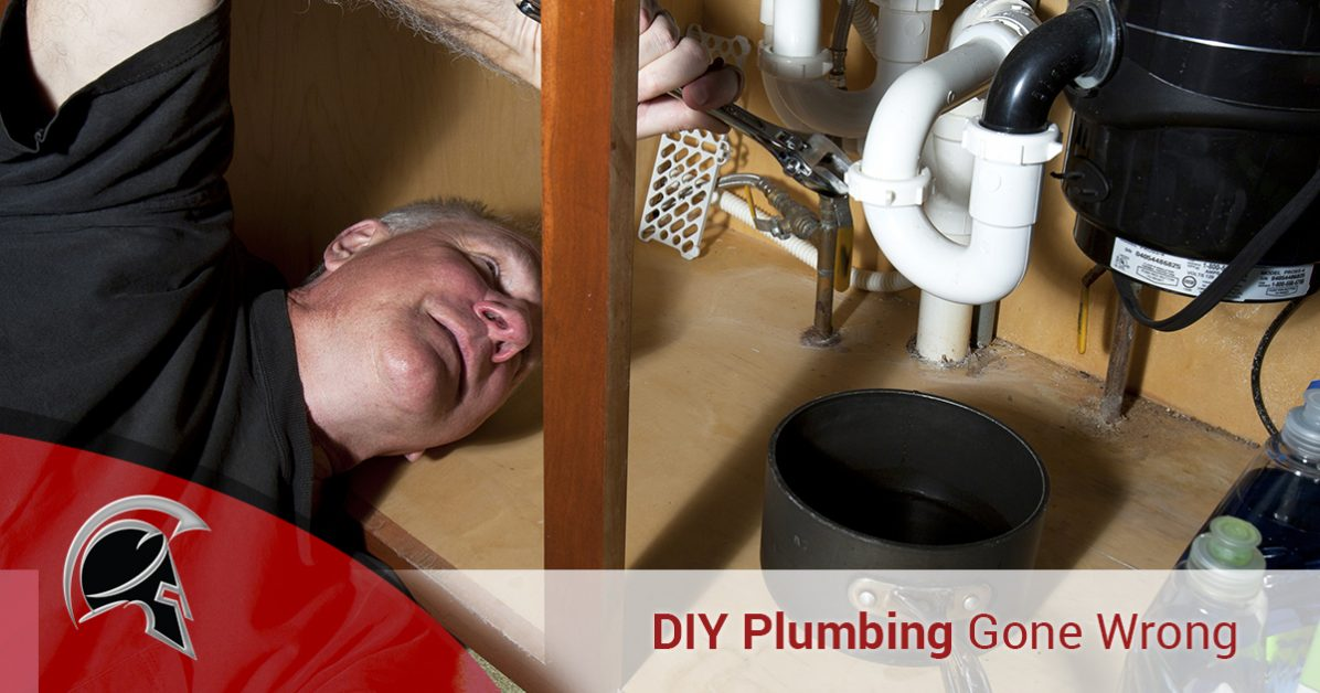Plumbing services tacoma diy projects gone wrong if you consider yourself fairly handy youre most likely able to take care of small projects around the house such as fixing a shelf or replacing worn solutioingenieria Images