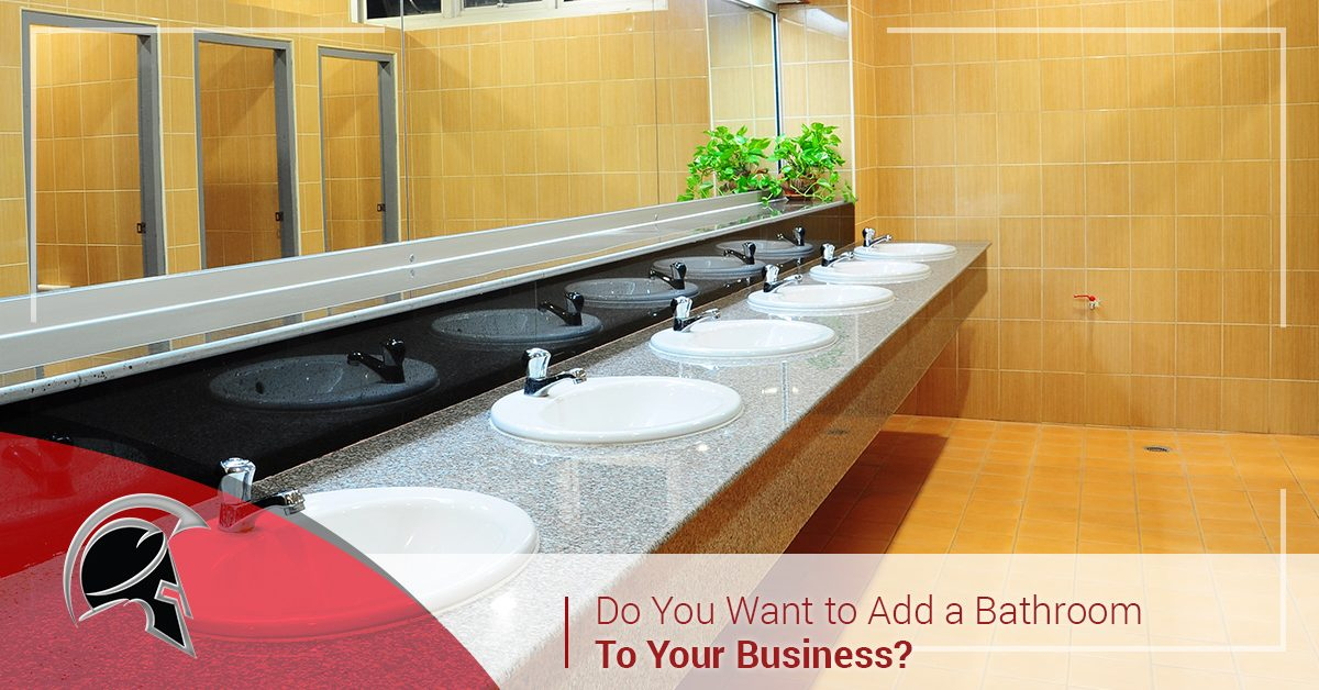 Commercial Plumbing Tacoma Adding A New Bathroom To Your Business