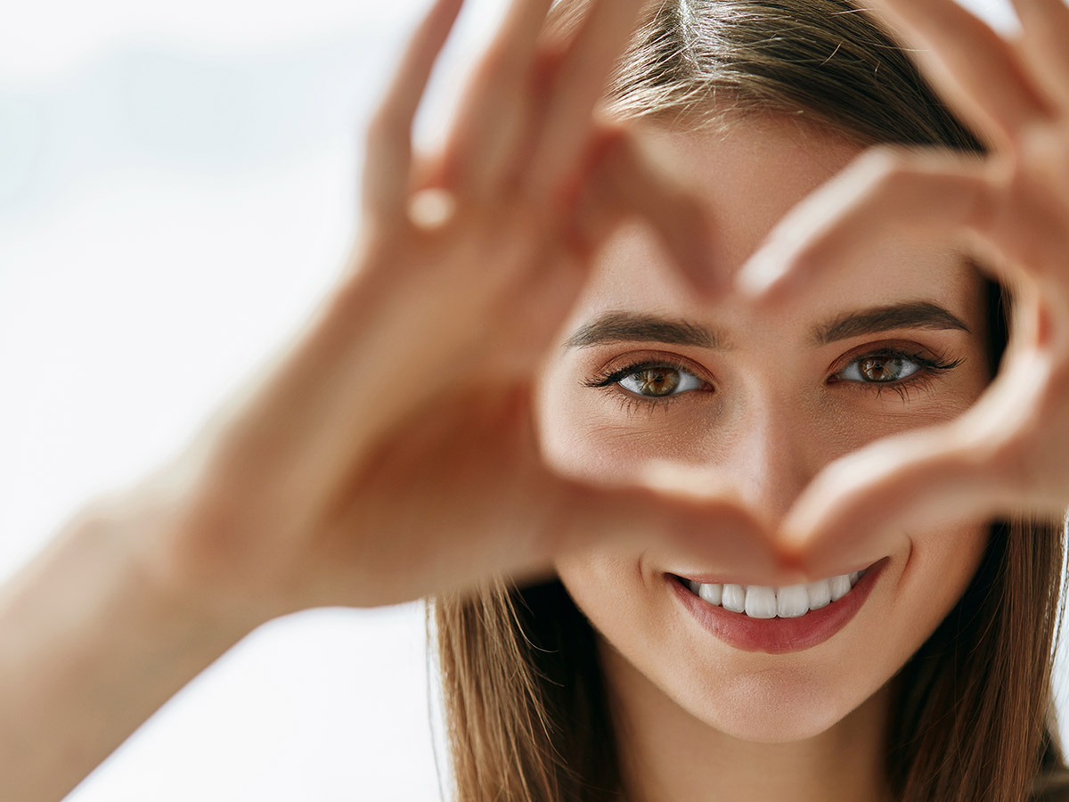 Healthy eyes and vision can improve overall health.